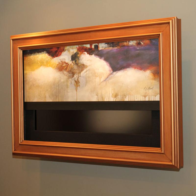 оформление телевизора в багетную раму спб